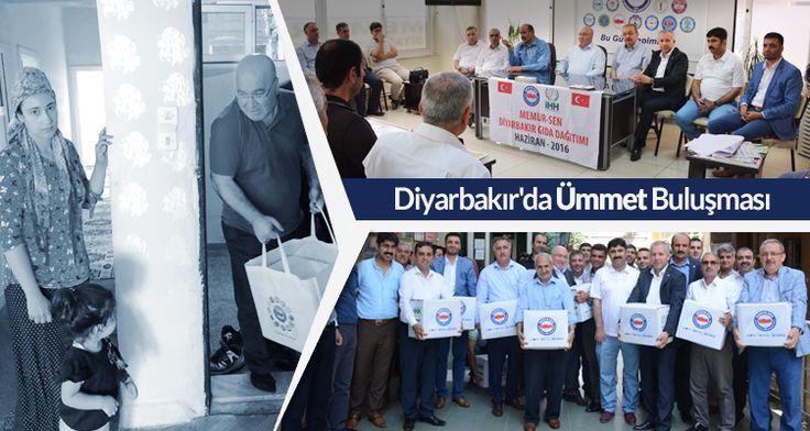 Memur-Sen'in, Türkiye genelinde başlattığı yardım kampanyaları hız kesmeden sürüyor. Bu kapsamda Diyarbakır'a gelen Memur-Sen heyeti, terör mağduru ailelere 1 TIR gıda yardımı gerçekleştirdi.