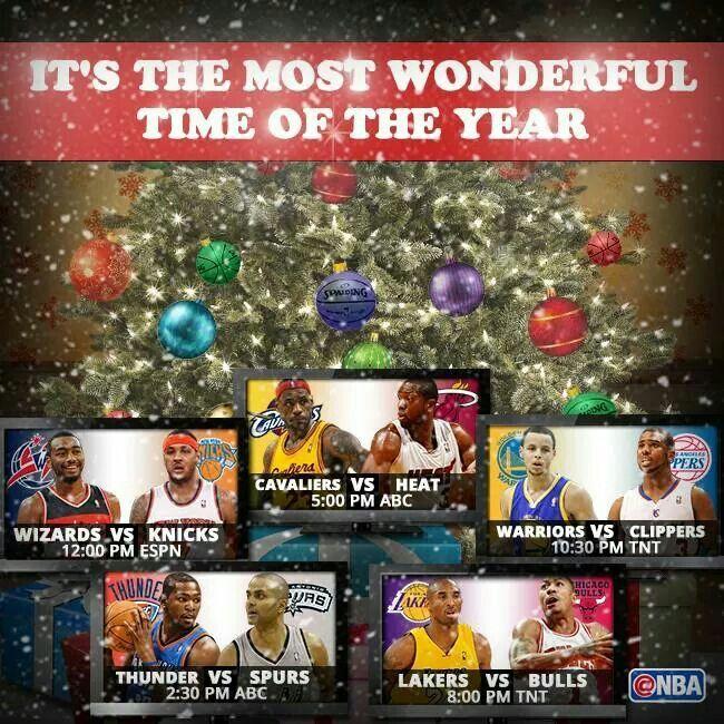 #NBA #Christmas Day