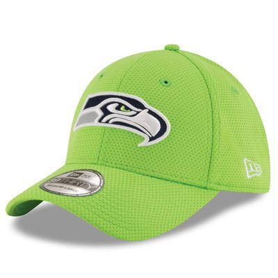 New Era Seattle Seahawks Neon Green Sideline Tech 39THIRTY Flex Hat