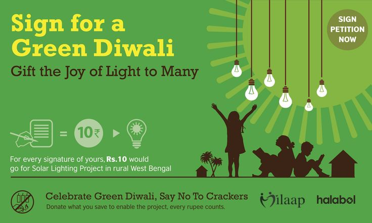 LetS Pledge For A Green Diwali And Experience The Joy Of Giving