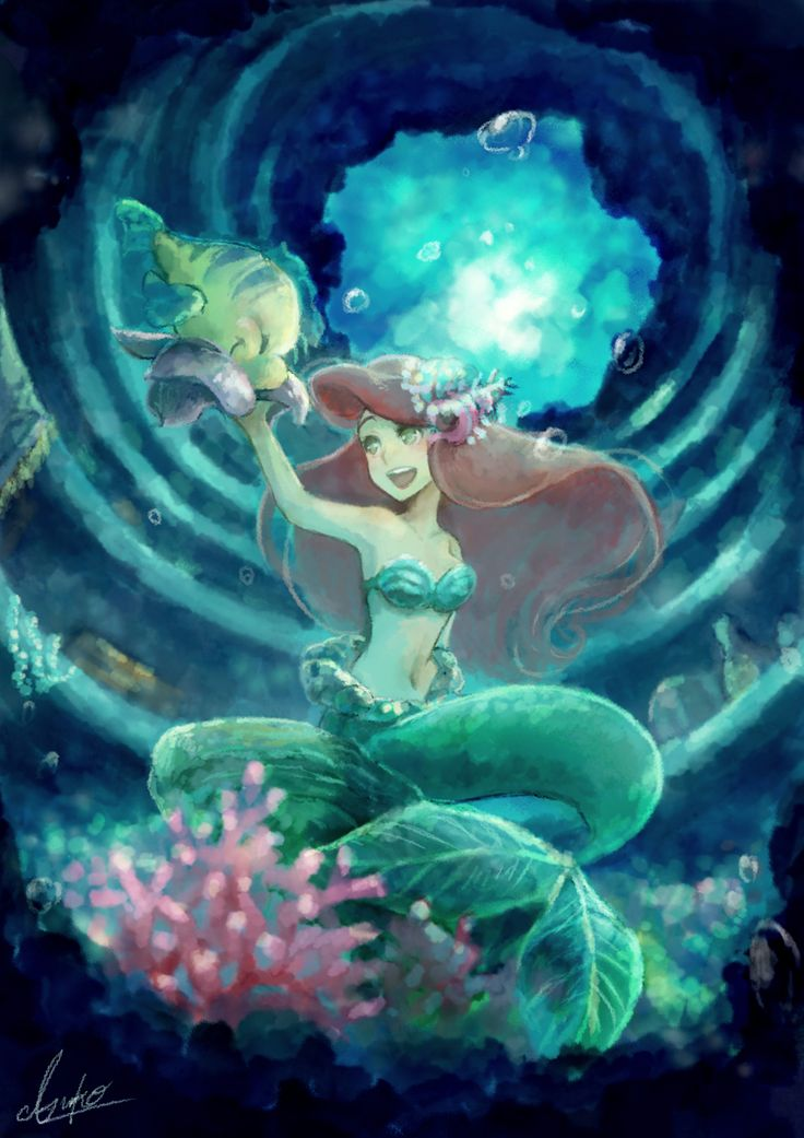 1000+ Ideas About Little Mermaid Wallpaper On Pinterest