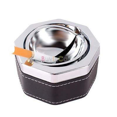 Hexagon-Cigarette-Ash-Ashtray-Smokeless-Holder-With-Lid-Portable-Tool-Typical
