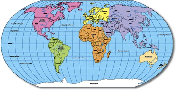 Printable Map Of The World With Countries Labeled.World Maps With Countries Labeled World Map World Map With