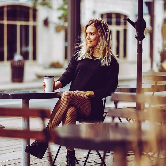 Black on black   ☕️/outfit. (Shop this look at joelledesaulniers.com)