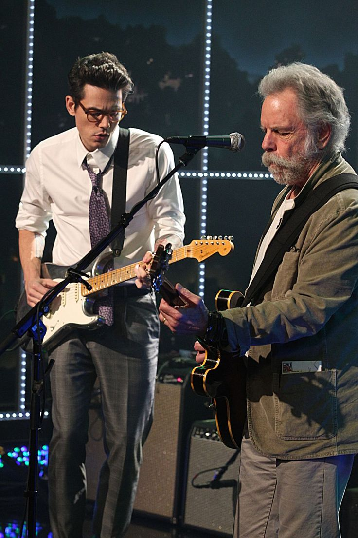 John Mayer and Bob Weir coming soon...  you heard it here first!