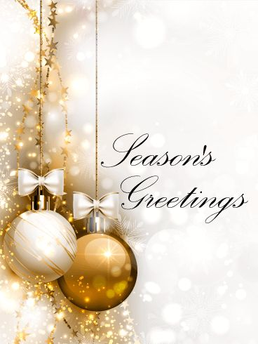 61 best seasons greetings cards images on pinterest anniversary golden ornaments seasons greetings card if you are looking for a gorgeous elegant seasons m4hsunfo