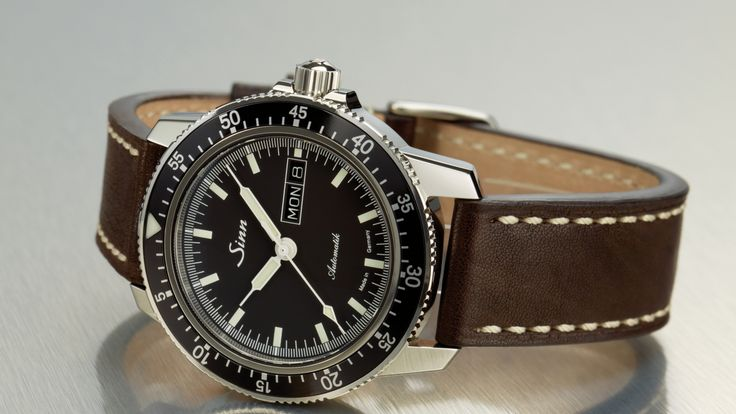The world of wristwatches under the $3,000 mark that deliver serious technical and aesthetic value. Sinn hails from Germany and delivers on both these fronts with the Model 104 St Sa, a pilot's watch with good proportions and sharp modern looks that come without sacrificing a functionality-drive approach.