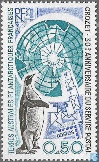 Postage Stamps - French Southern and Antarctic Lands - Postal Service Crozet Islands