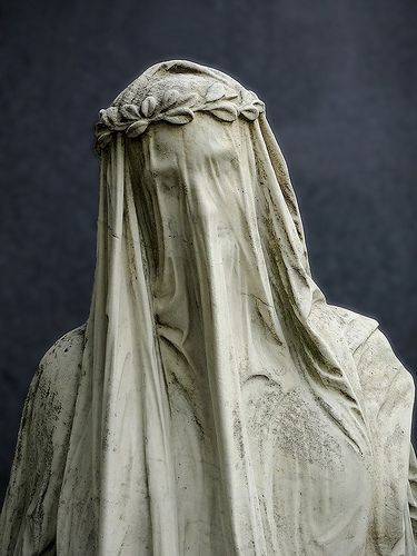 Wien, Zentralfriedhof, Vienna Cemetery, Veiled Lady