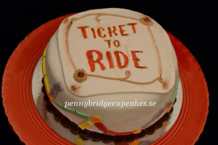 Ticket To Ride cake