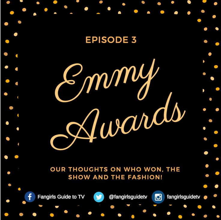 Episode 3 of Fangirls Guide to TV podcast is up! Listen to our reactions to the 2016 Emmy Awards! We discuss all the winners, including People vs. OJ, Transparent, Tatiana Maslany, Maggie Smith, Game of Thrones, Veep, Sherlock, Transparent, and Jeffrey Tambor!  We also talk about Jimmy Kimmel's hosting and the show in general as well as the fashion, Kit Harrington, Priyanka Chopra and Tom Hiddleston and much more!  https://soundcloud.com/fangirls-guide-to-tv/ep-3-2016-emmy-award-winners