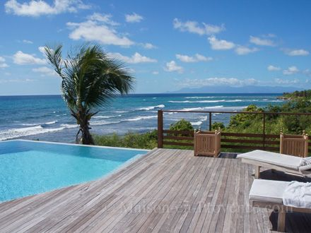 The view of the holiday rental Villa at Saint-François ,Guadeloupe - photo 22461 Credits Maison en Provence (TM) / The owner