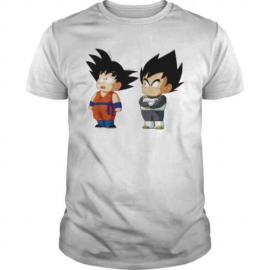 Awesome Tee Kid Goku and Kid Vegeta Shirts & Tees