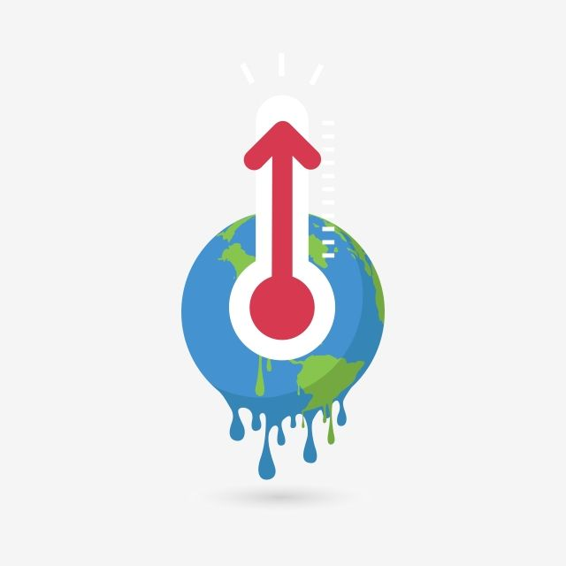 High Temperature On Earth Globe And Thermometer Weather Thermometer Earth Globe Temperature Png And Vector With Transparent Background For Free Download Earth Globe Thermometer Doodle Icon
