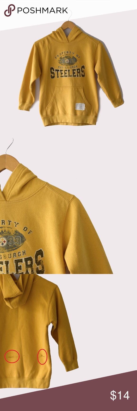 """NFL Steelers Hoodie ( discounted for imperfection) Reebok NFL Vintage Collection 