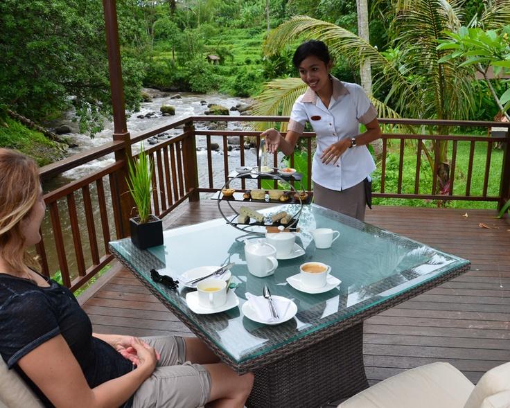 Bali honeymoon stop #1 : The Samaya Ubud