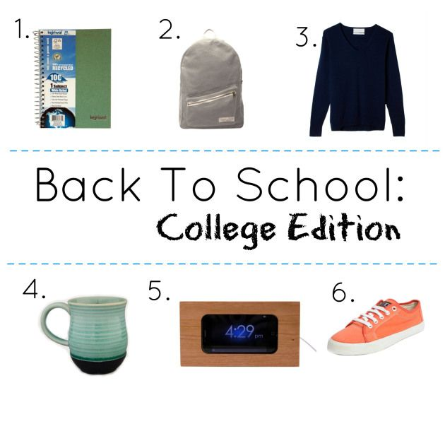 Back to School: College Edition