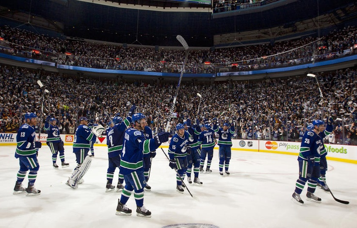 It takes four games to win a series, the Canucks still have a chance. #believe ♥
