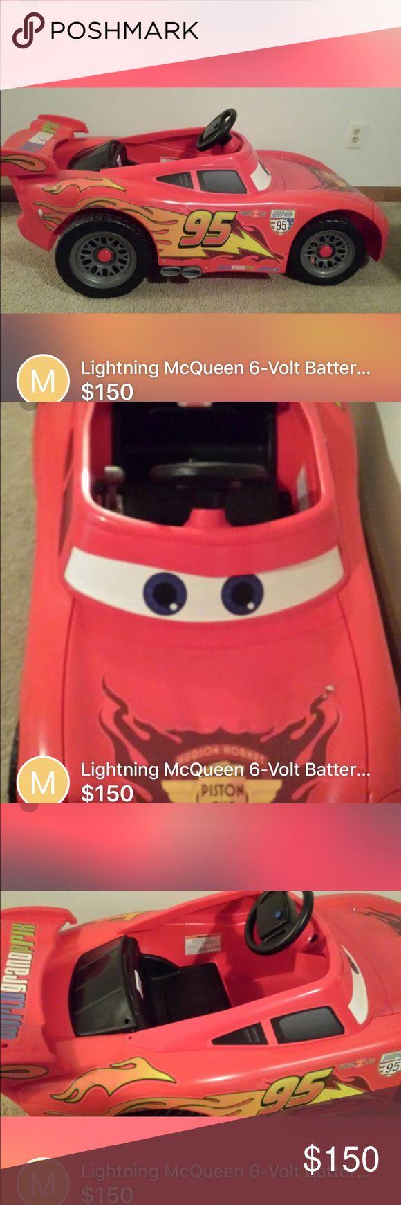 Lightning McQueen 6 volt power Wheel Lightning McQueen 6 volt power Wheel Other