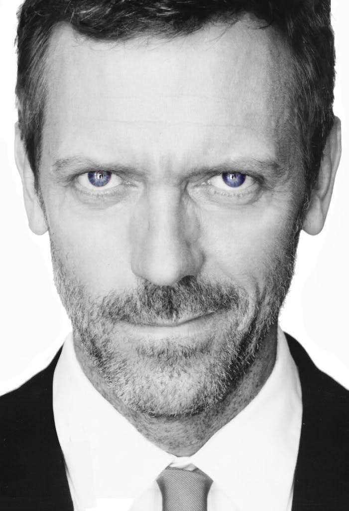 Hugh Laurie  I love this man...