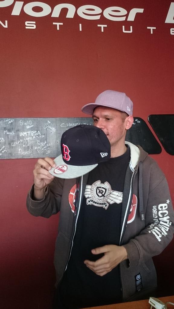 Well done @shamelessdjsa not just rocking a @NewEra_SA cap but winning another from @PioneerDJI #flyyourownflag