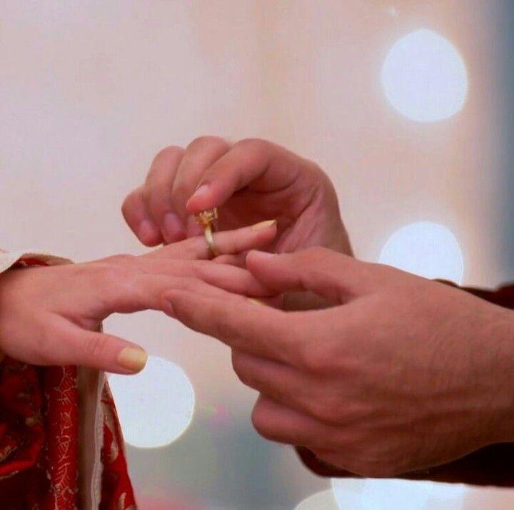 Got engaged gauri and omkara
