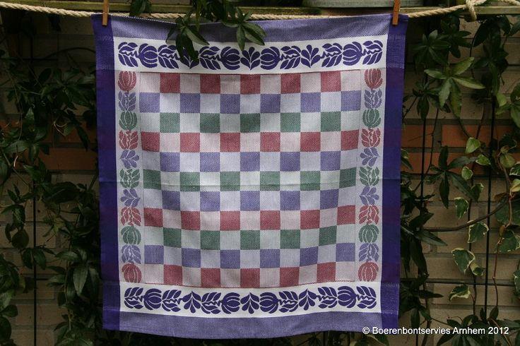 Boerenbont Textiel Keuken- en theedoeken