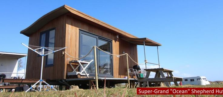 Luxury camping in the Gower at Rhossili