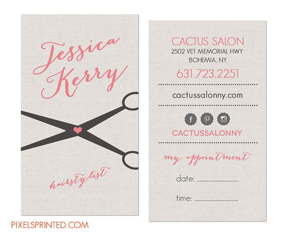 hairstylist business cards, hair stylist business cards, simple elegant hair stylist business cards