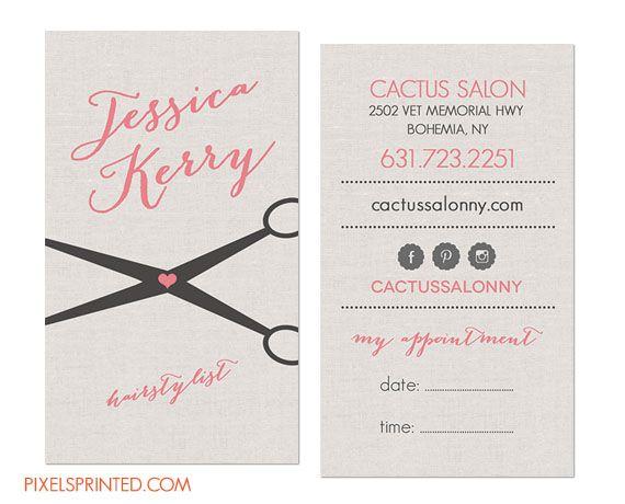 hairstylist business cards, hair stylist business cards, simple elegant hair stylist business cards