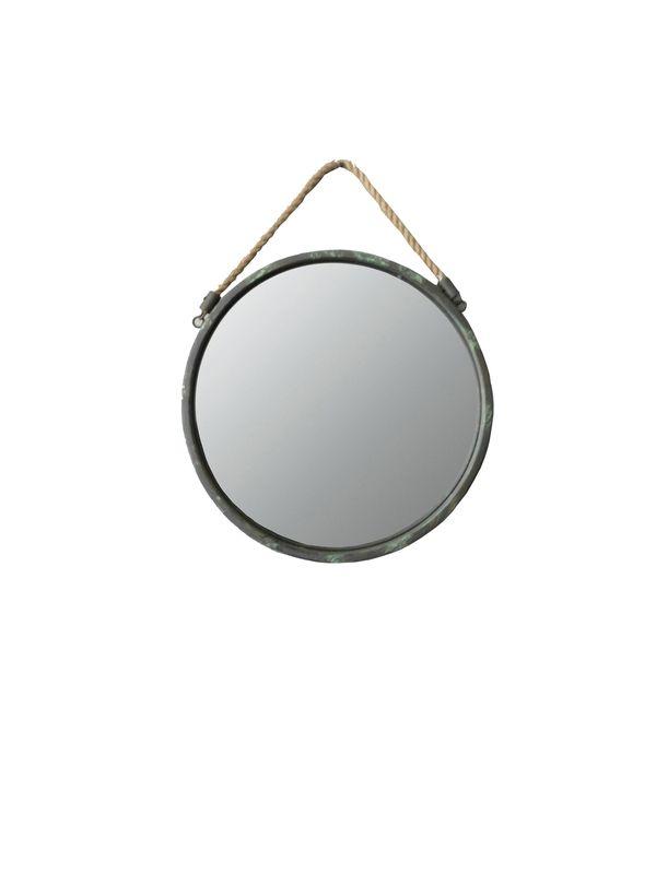 23 99 euro nieuw spiegel industrieel rond small for Ronde plakspiegel