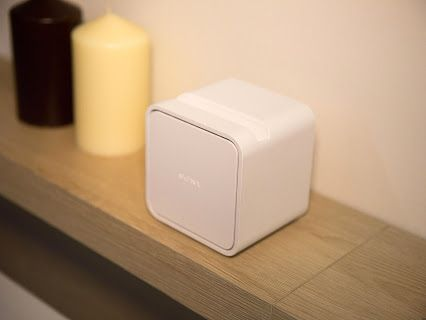 Sony's Portable Short Throw Projector turns a wall, table or fridge door into a touchscreen TV: http://cnet.co/WdUuMd - Imagine a 23-inch TV you could take in the bath, stick to your refrigerator door, or plonk on your kitchen workspace. That's the promise of the Sony Portable Short Throw Projector, which lights up any room and turns any wall or surface into a TV and a touchscreen. A short-throw projector beams an image a short distance, Click to read more