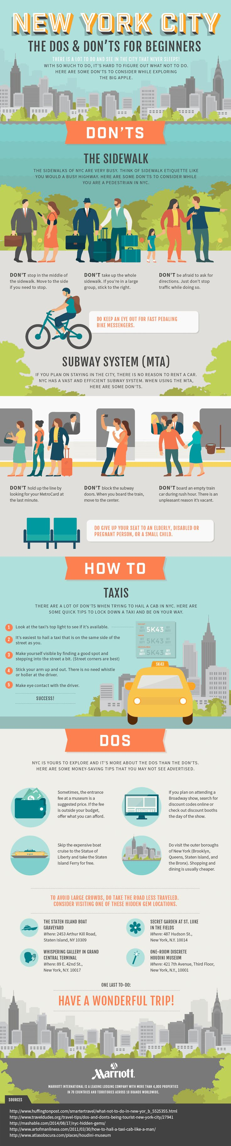 New York City Travel Guide Do's And Don'ts