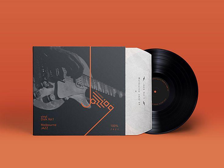 Melbourne Jazz Festival 09 - Vinyl cover design - case study