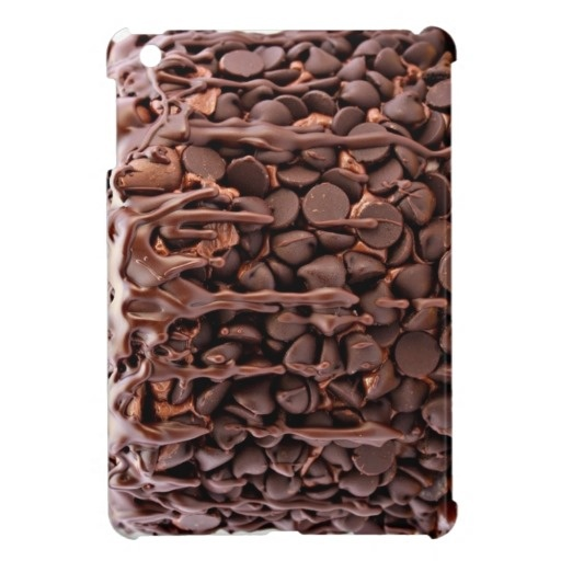 Chocolate Wasted Cake iPad Mini case