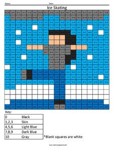 10 best Multiplication Hidden Picture images on Pinterest Math
