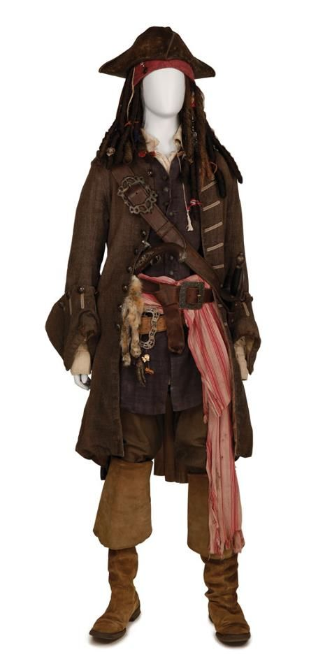 if i could dress like a pirate jack sparrow costumecaptain - Jack Sparrow Halloween Costumes