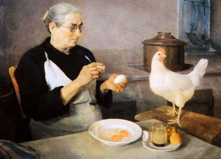 Κοκότσης Δημήτριος-Η μητέρα του καλιτέχνη