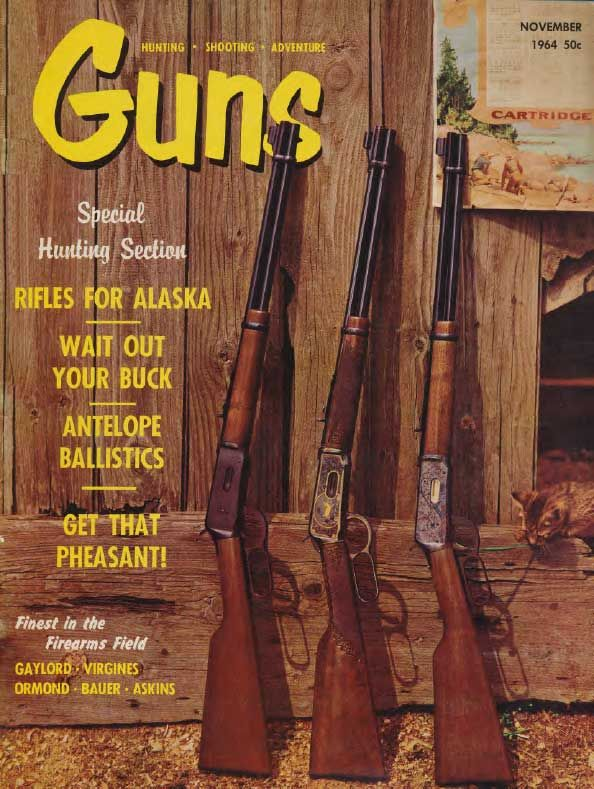 GUNS Magazine November 1964 | Classic Editions of GUNS Magazine | Click here to read this: http://www.gunsmagazine.com/1964issues/G1164.pdf