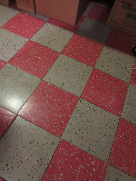 43 best floors images on pinterest vintage kitchen for Vintage linoleum flooring
