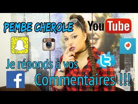 Pembe Cherole - Je réponds à vos commentaires - YouTube