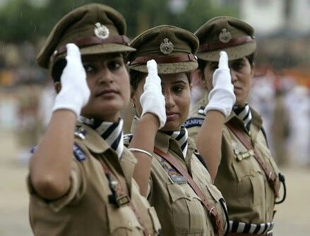 Indian police women #police #india #indianwomen #indian #salute