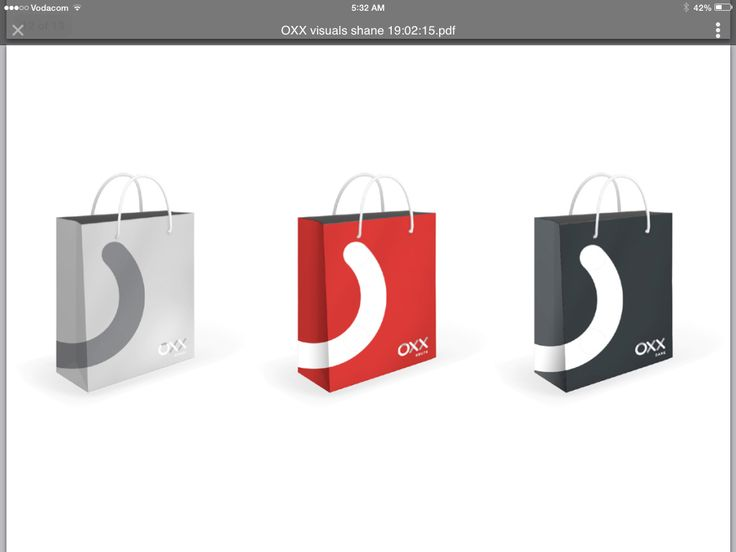 OXX Shopping Bags One Color