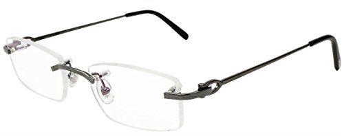 Cartier EYE00050 Decor C Rectangular Shape Men's Optical Eyeglasses