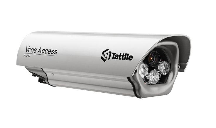 Tattile Vega Access. Rendszám felismerő kamera.