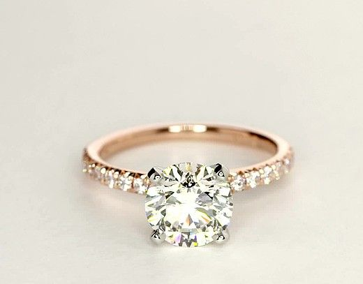 Wedding rings gold  Best 25+ Gold engagement rings ideas on Pinterest | Wedding ring ...