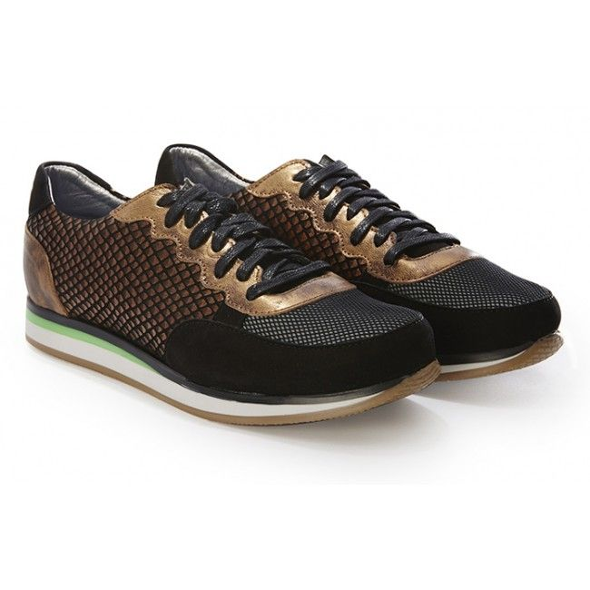 Copper Colt Runner Sneakers > UK Sneakers from Rose Rankin