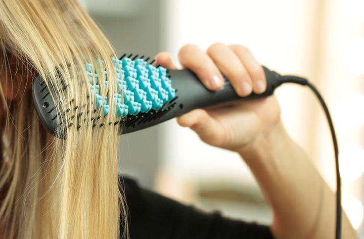 Shop this video: This genius brush straightens your hair...for Rosanna Rosanna Danna?