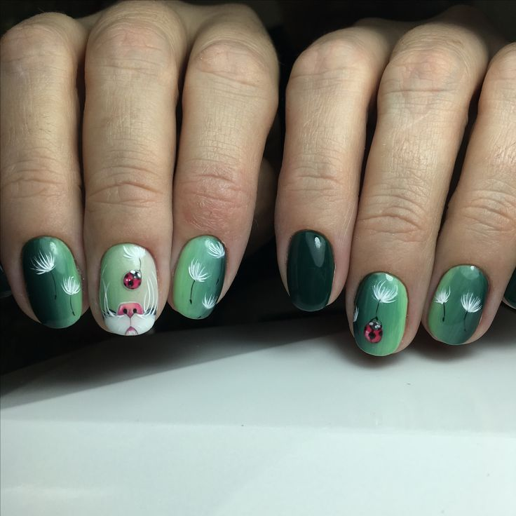 «Любопытный Носик» Дизайн от руки гель лаками, объемная прорисовка и вертикальный градиент кисточкой из бутылочки #маникюр #маникюрекатеринбург #топ #топмастеров #отруки #отрукигельлаками #ручнаяработа #дизайнногтей #рисуемнаногтях #градиент #короткиеногти #зеленыеногти #кошки #кошкинаногтях #екатеринбургногти #екатеринбург