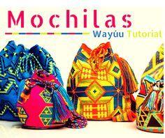 Cómo tejer una mochila Wayúu a Crochet - Completo